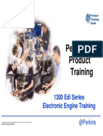 Perkins 1300 Edi Training Course Fuel Injection