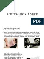 Etiología de La Agresión a La Mujer