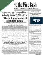Save the Pine Bush December - January 2018 Newsletter