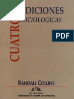 Randall Collins Cuatro Tradiciones Sociologicas