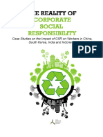 The Reality of Corporate Social Responsibility