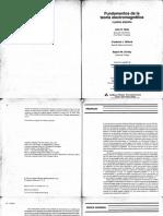 Reitz y Milford - Fundamentos de La Teoria Electromagnetica 4ed Completo