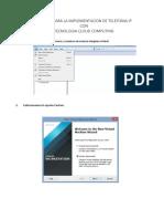 Manual Para La Implementacion de Telefonia Ip