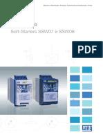 WEG Soft Starters Ssw07 e Ssw08 10413139 Catalogo Portugues Br