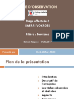 Stage en Agence de Voyage