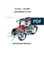 Sm--Valtra Tractors Valmet Series Service Repair Manual