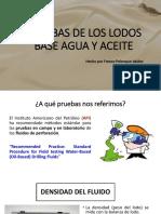 Tema 4 Pruebas de Los Lodos Base Agua y Aceite