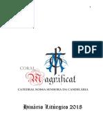 Hinário Coral 2018