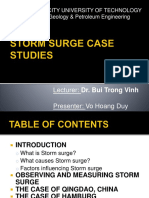 Storm Surge Case Studies Project