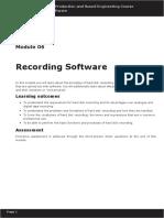 Module 06 - Recording Software.pdf