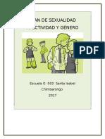 Plan Sexualidad Afectivida y Género