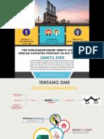 Pra Rancangan Pabrik Dimetil Eter (DME) dari Syn-gas dengan Kapasitas Produksi 64.400 ton/tahun.