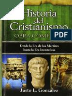 GONZÁLES, Justo (2010). Historia Del Cristianismo. Miami, Unilit