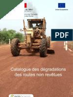 Catalogue Degradations Routes Non Revetues