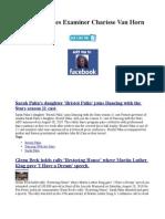 US Headlines Examiner Charisse Vanhorn