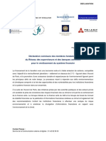 Declaration Commune Greening the Financial System 20171212