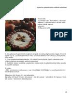 Joghurtos Gyümölcskrém Szőlővel (Mikróban)