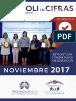Boletín Estadístico Noviembre 2017