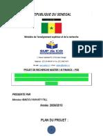 Projet de Memoire Analyse Du Financement Du Programme d'Urgence de Développement Communautaire (PUDC)