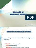 LEGISLACIÓN-DERECHO DE VIGENCIA
