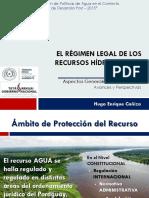 Presentacion, Regimen Legal de Los Recursos Hidricos