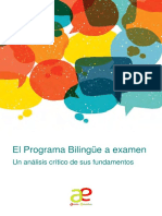 Informe Bilinguismo 2017 Low