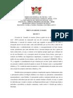 Prova 03 - Hegel e Marx (Camila Olídia Teixeira Oliveira - 85517)