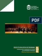 Plan d Estudios Musica Universidad Nacional