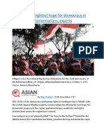 Indonesia is brightest hope for democracy in Asean say parliamentarians, experts.docx