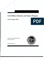 Civil-Military Relations and Nuclear Weapons - Scott D Sagan
