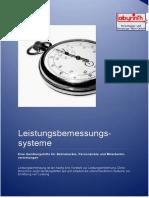 Leistungsbemessungssysteme Handlungshilfe 201103