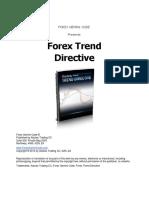 Forex Trend Directive
