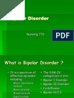Bipolar Disorder TX Nur 770