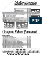 Clavijeros Schaller y Rubner