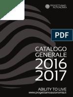 Catalogo Generale Progettiamo Autonomia