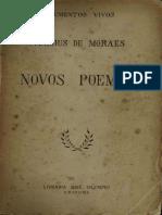 Vinicius de Moraes-Nuevos Poemas