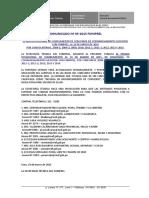 Comunicado 05 2015 FONIPREL