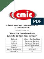 Procedimiento de Suministro de Productos y Servicios