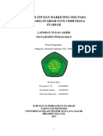 Analisis STP dan Marketing Mix CIMB Niaga Syariah
