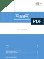 Cuenta Publica de La Segpres 2016 2017