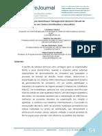 Implantação WMS - Estudo de Caso Em Um Centro Distribuidor e Atacadista