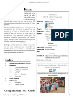 Idioma Garífuna - Wikipedia, La Enciclopedia Libre