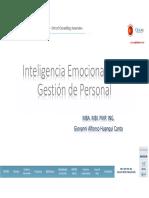 Inteligencia Emocional en La Gestión de Personal Giovanni Alfonso Huanqui Canto Oxford Group