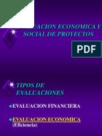 Evaluacion Economica y Social de Proyectos