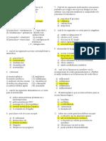 5to Examen de Farmacologia