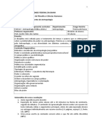 Programa Antropologia Política (2016.2)