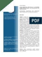 Conocimientos de Bioseguridad