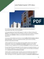 12/Diciembre/2017 Sociedad Hipotecaria Federal Inyecta 1570 Mdp a Vivienda Verde