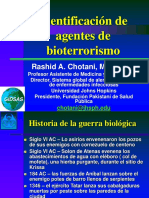 Identificacion de agentes de Bioterrorismo