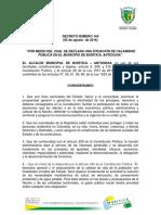 Acto Administrativo Calamidad Publica Terminada Revisado CMGR 164